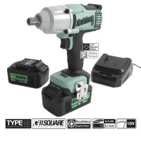 Image for Kielder 1/2 Inch Drive Impact Wrench 18V 700NM With 2 x 4.0AH Battery