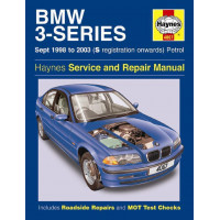 Image for BMW 3-Series Manual (Haynes) Petrol - 98 to 03, S reg on (4067)