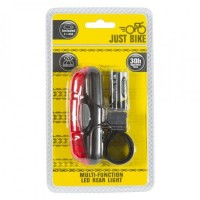 Image for Just Bike Multi-Function LED Rear Light & Batteries
