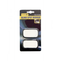 Image for Black Square Blind Spot Mirror Pack Of 2