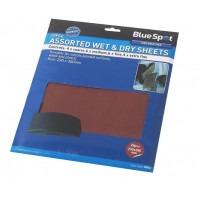 Image for Blue Spot 20 Piece Wet and Dry Sandpaper
