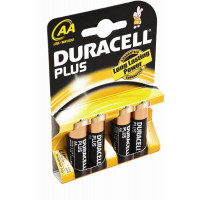 Image for AA Batteries DURACELL Pack Of 4