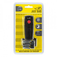 Image for Just Bike Multi-Function LED Headlight & Batteries