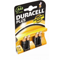 Image for AAA Batteries DURACELL Pack Of 4