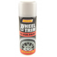 Image for Hycote Silver Wheel Paint Aerosol 400 ml
