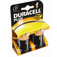 Image for D Batteries DURACELL Pack Of 2