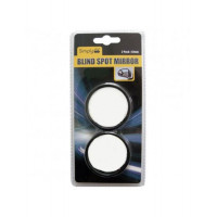 Image for Black Circular Blind Spot Mirror Pack Of 2