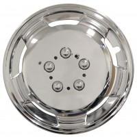 Image for Streetwize 16 Inch Deep Dish Wheel Trims Chrome Effect
