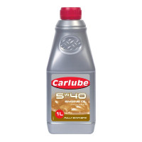 Image for Carlube 5W40  Fully Synthetic  Engine Oil 1 lt