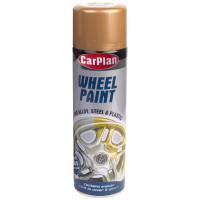 Image for Wheel Paint Bright Gold Aerosol 500 ml