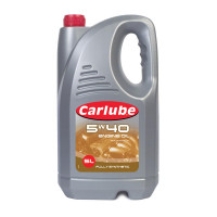 Image for 5W 40 Carlube Fully Synthetic Engine Oil 4.55 lt
