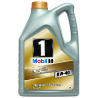 Image for Mobil 1 New Life 0w-40 Fully Synthetic Engine Oil 5 Litre