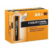 Image for Duracell Industrial AA Batteries Box of 10