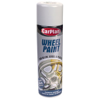 Image for Wheel Paint Bright Silver Aerosol 500 ml