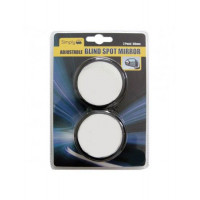 Image for Adjustable Circular Blind Spot Mirror Pack Of 2