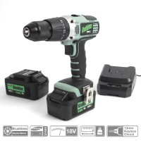 Image for Kielder 18V Combi Drill With Two 4.0 AH Batteries