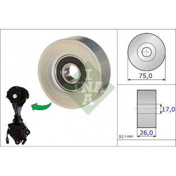 Guide Pulley - Bullseye Car Parts